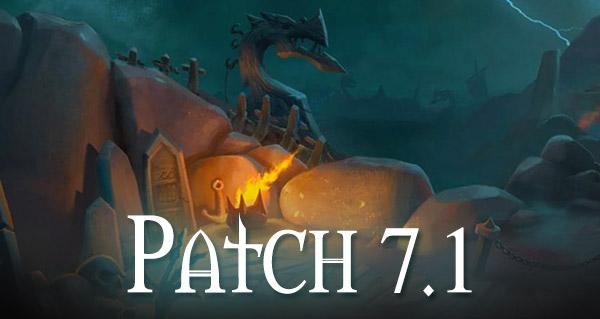 Patch 7.1 : les nouveautés