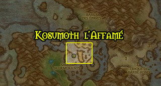 Kosumoth sur l'Oeil d'Azshara