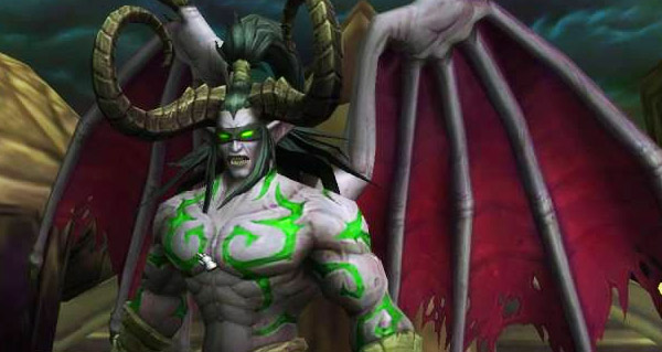 Illidan au temple Noir
