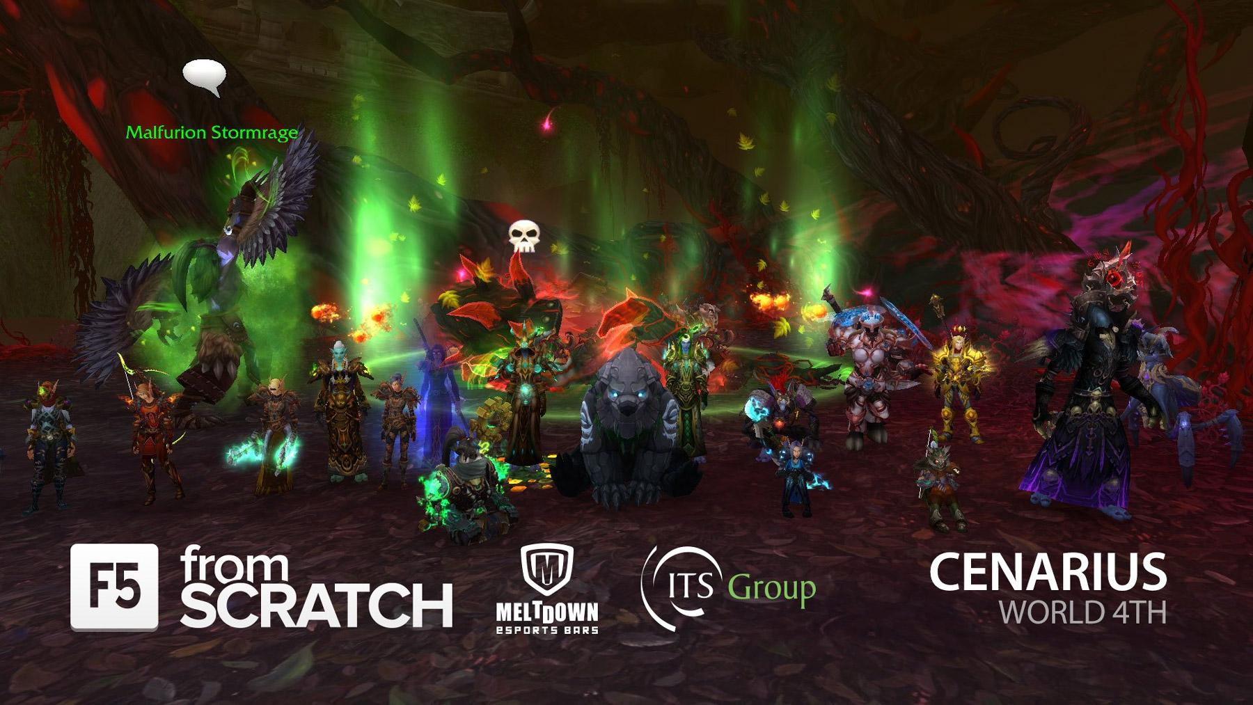 La guilde From Scratch termine le Cauchemar d'émeraude et obtient la 4ème place au classement mondial
