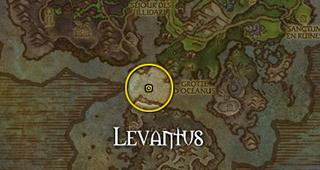 Levantus se trouve au Récif de Lithduin