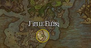 J'im le Flétri se trouve dans une grotte de l'Île du Guet