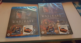 Dvd et Blu-ray Warcraft via Jeremy