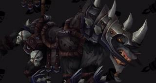 Monture Loup de guerre prestigieux