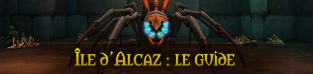 Île d'Alcaz WoW