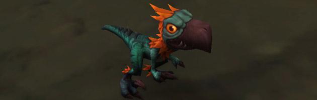 Nourrissez le jeune falcosaure orphelin pour l'ajouter à votre collection