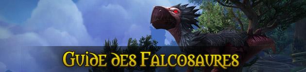Montures et mascottes falcosaures du patch 7.1 WoW