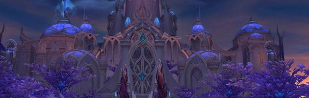 Le Palais Sacrenuit sera le prochain raid de World of Warcraft