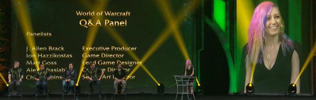 La session Q&A en compagnie des développeurs de Wow