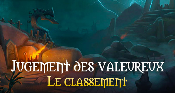 Jugement des valeureux : classement mondial et francophone