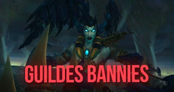 Trois guildes bannies pour avoir exploité un bug